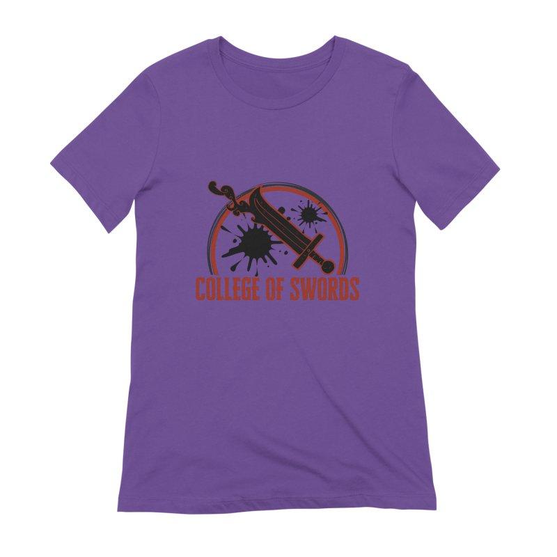 College of Swords Women's Extra Soft T-Shirt by RandomEncounterProductions's Artist Shop