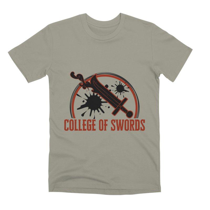 College of Swords Men's Premium T-Shirt by RandomEncounterProductions's Artist Shop