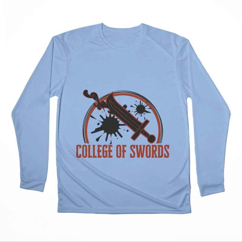College of Swords Men's Performance Longsleeve T-Shirt by RandomEncounterProductions's Artist Shop