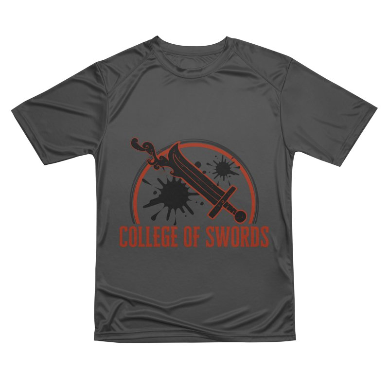 College of Swords Women's Performance Unisex T-Shirt by RandomEncounterProductions's Artist Shop