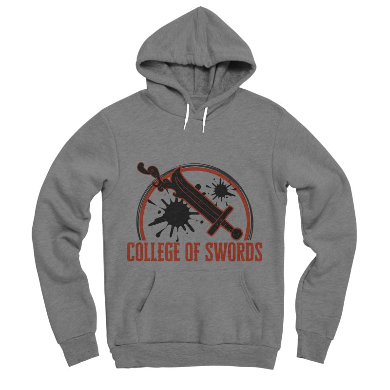 College of Swords Men's Sponge Fleece Pullover Hoody by RandomEncounterProductions's Artist Shop