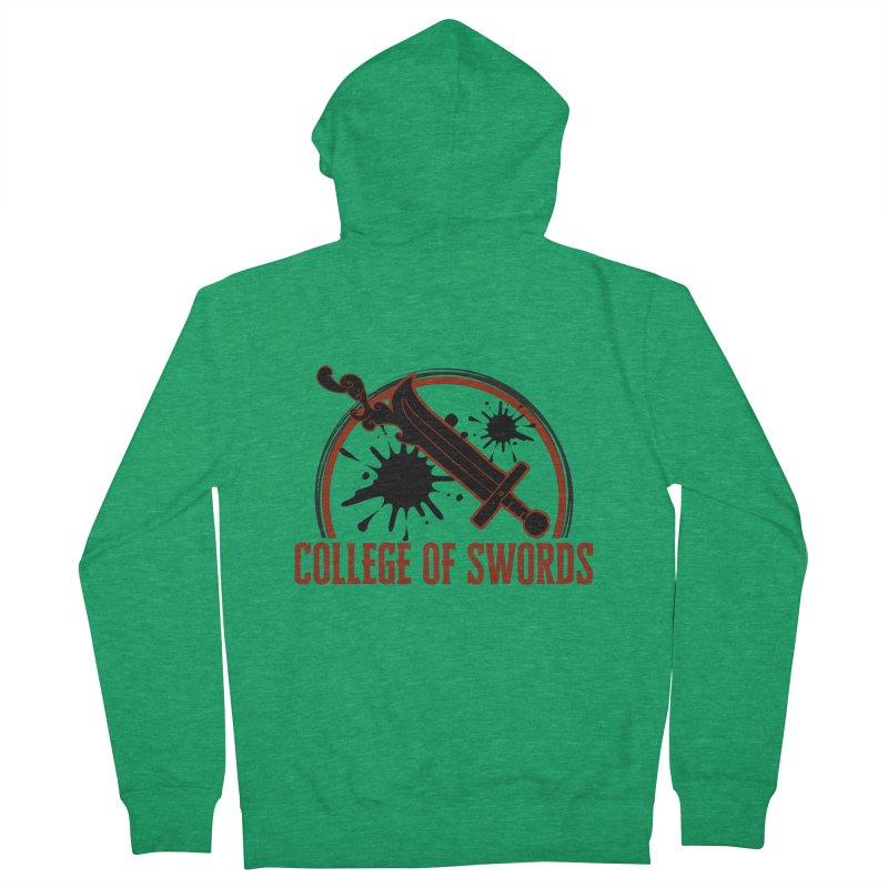 College of Swords Men's Zip-Up Hoody by RandomEncounterProductions's Artist Shop