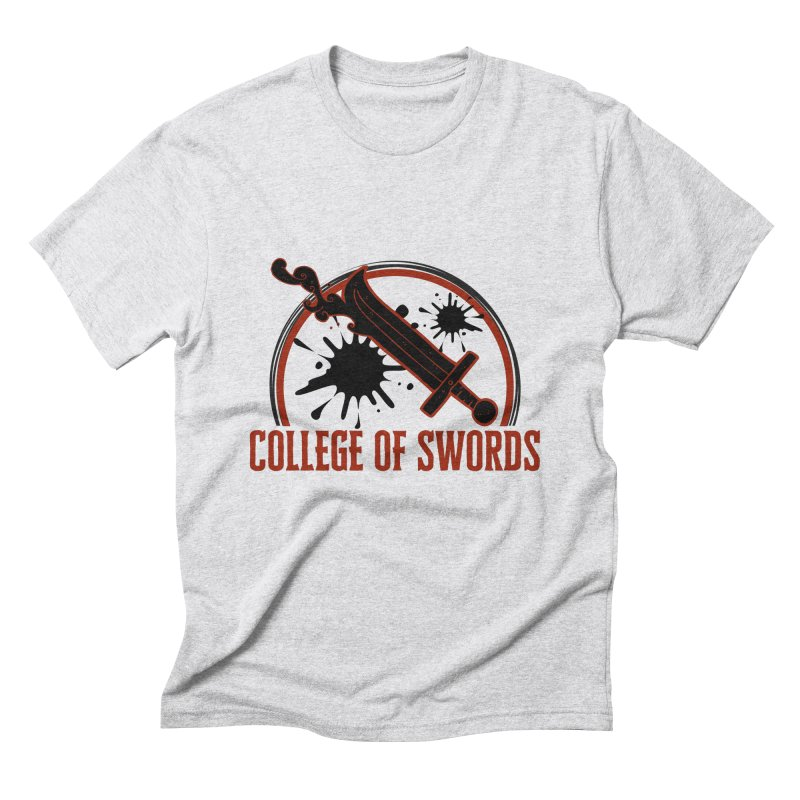 College of Swords Men's Triblend T-Shirt by RandomEncounterProductions's Artist Shop