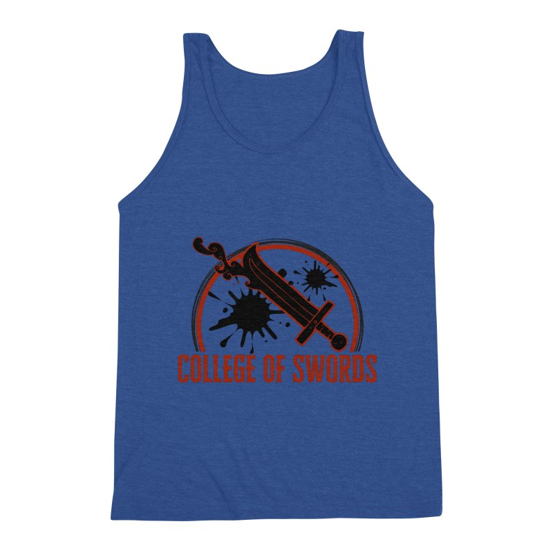 College of Swords Men's Tank by RandomEncounterProductions's Artist Shop