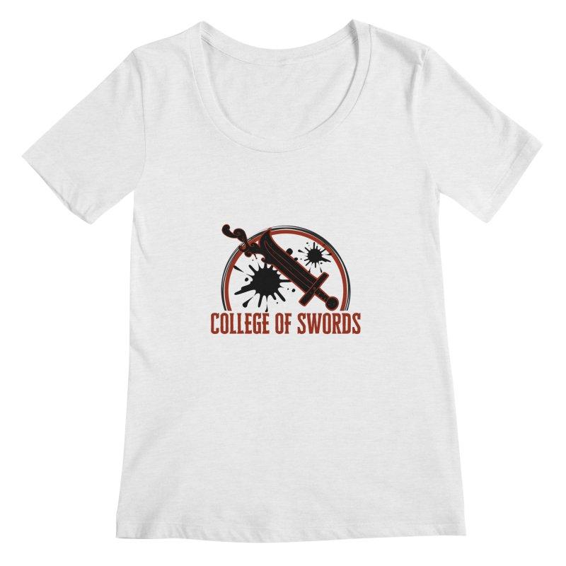 College of Swords Women's Regular Scoop Neck by RandomEncounterProductions's Artist Shop