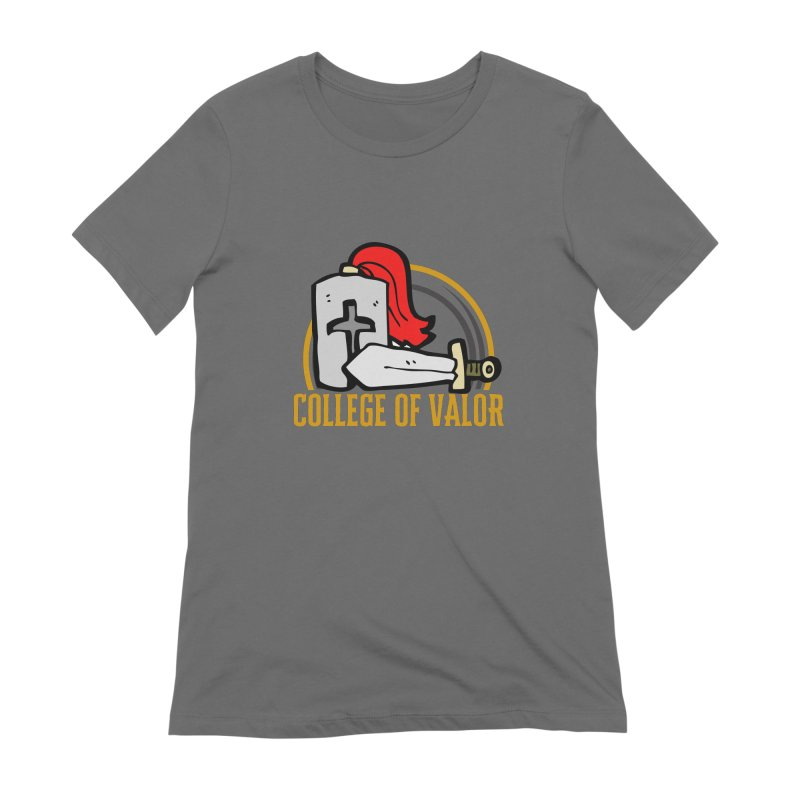 College of Valor Women's T-Shirt by RandomEncounterProductions's Artist Shop