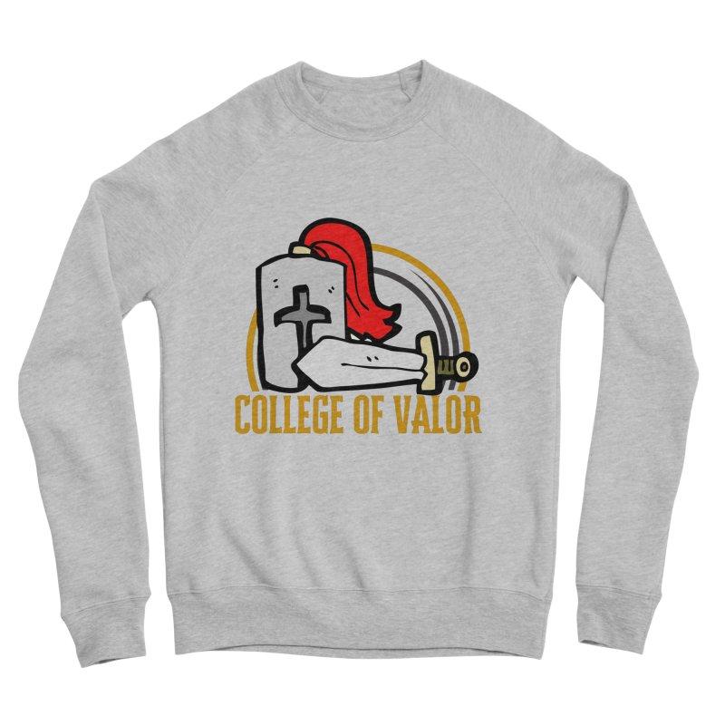 College of Valor Women's Sponge Fleece Sweatshirt by RandomEncounterProductions's Artist Shop
