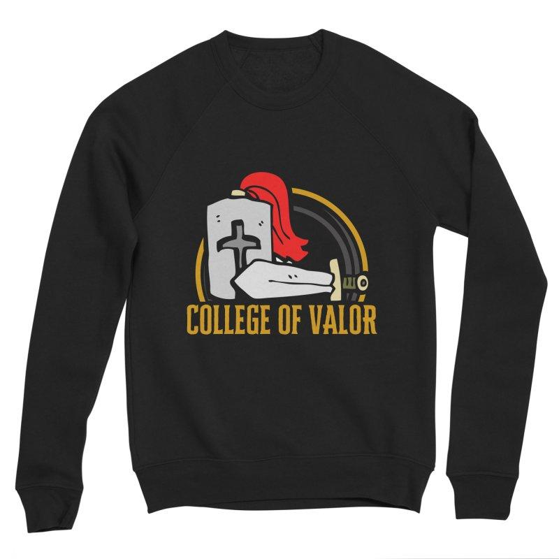 College of Valor Men's Sponge Fleece Sweatshirt by RandomEncounterProductions's Artist Shop