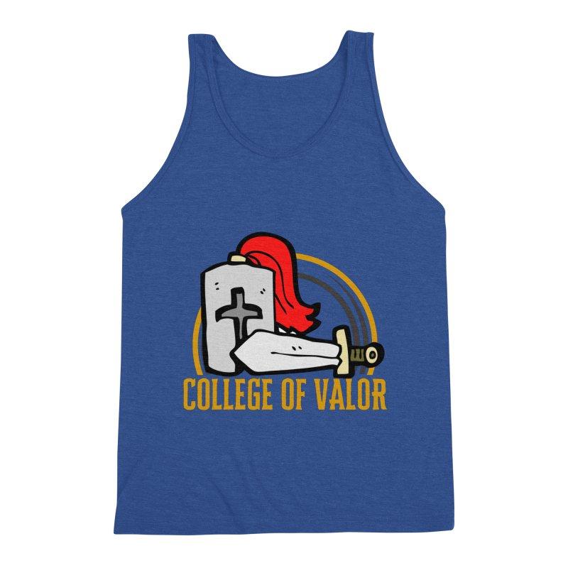 College of Valor Men's Tank by RandomEncounterProductions's Artist Shop