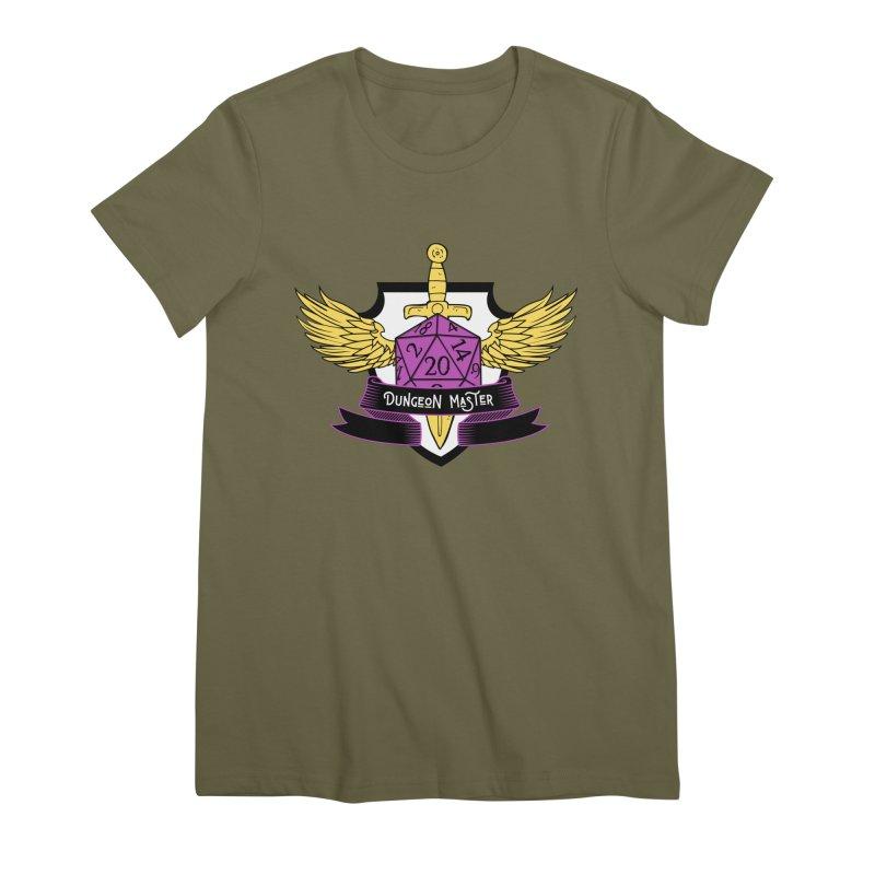 Dungeon Master: Non-Binary Women's Premium T-Shirt by RandomEncounterProductions's Artist Shop