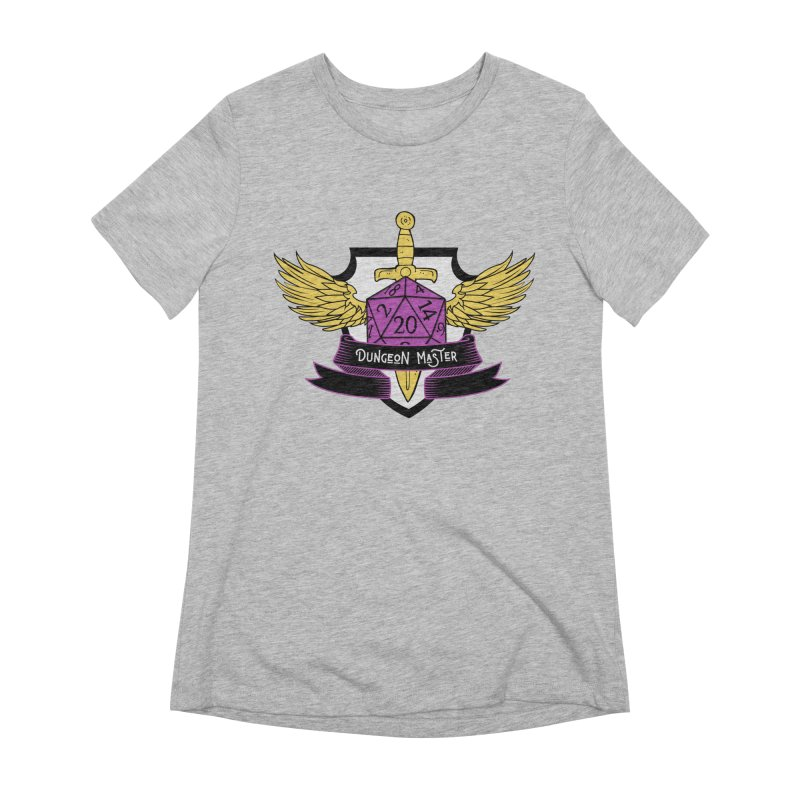 Dungeon Master: Non-Binary Women's Extra Soft T-Shirt by RandomEncounterProductions's Artist Shop