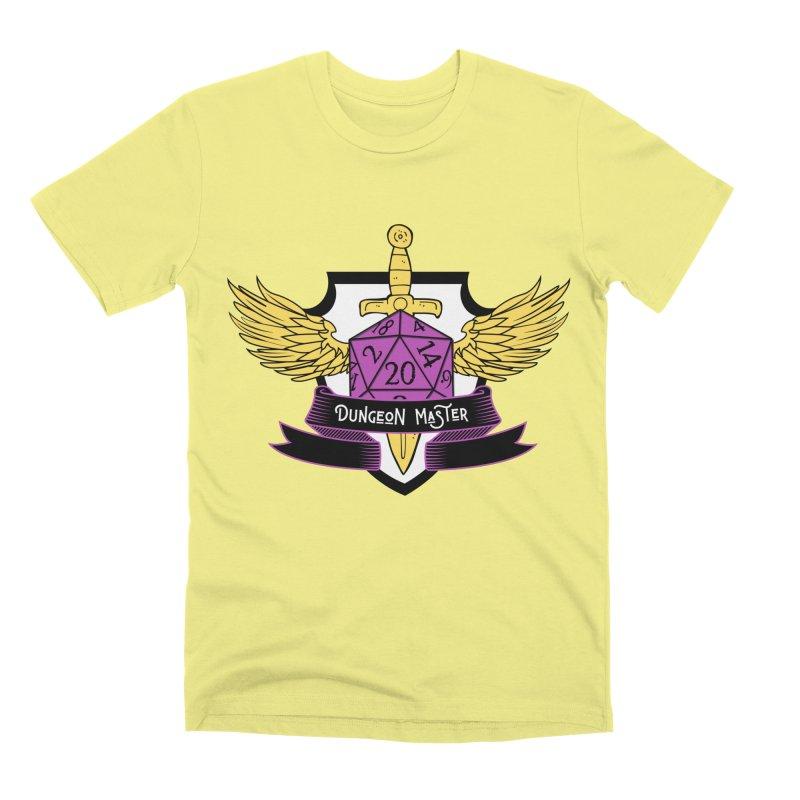 Dungeon Master: Non-Binary Men's Premium T-Shirt by RandomEncounterProductions's Artist Shop