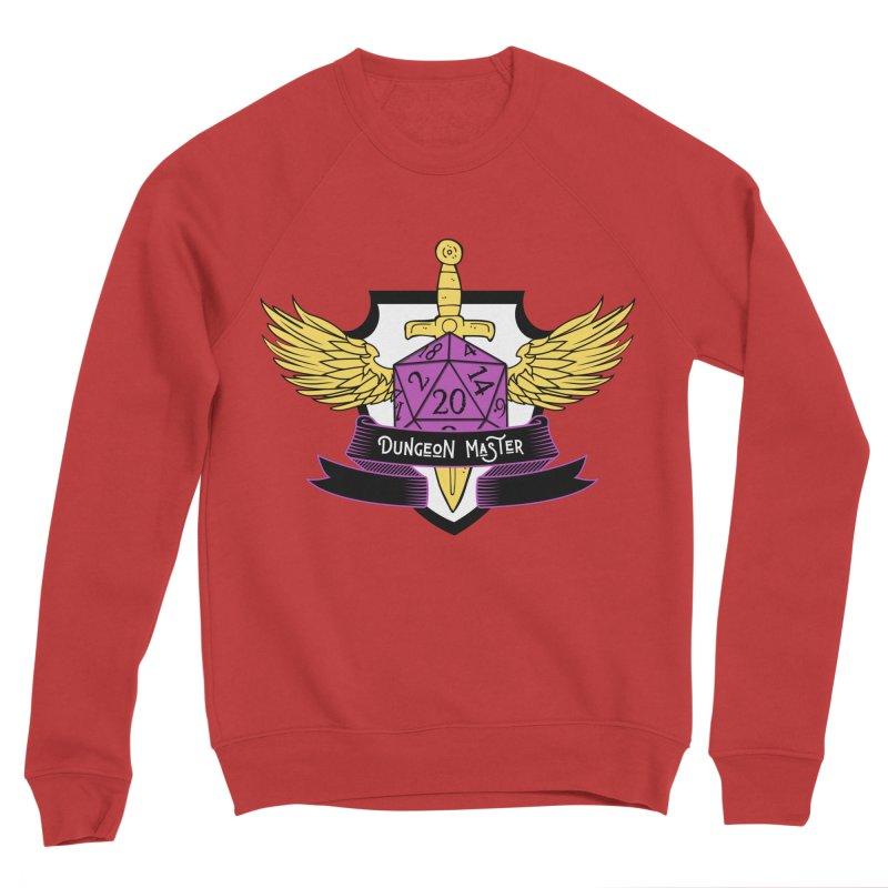 Dungeon Master: Non-Binary Men's Sponge Fleece Sweatshirt by RandomEncounterProductions's Artist Shop
