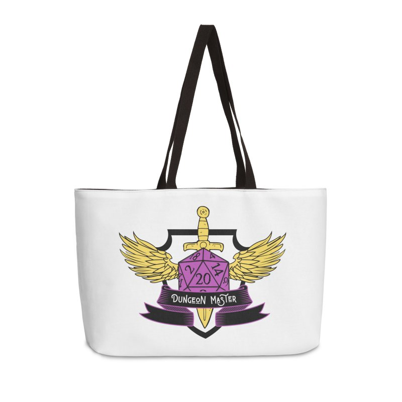 Dungeon Master: Non-Binary Accessories Weekender Bag Bag by RandomEncounterProductions's Artist Shop