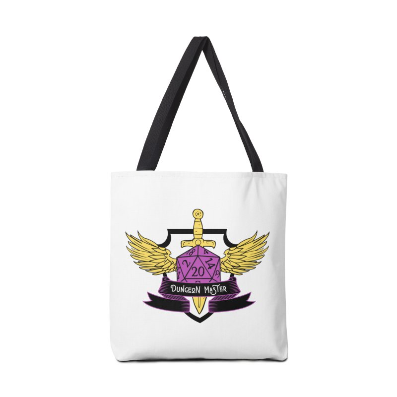 Dungeon Master: Non-Binary Accessories Tote Bag Bag by RandomEncounterProductions's Artist Shop