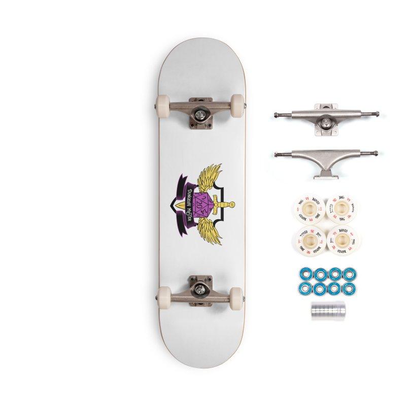 Dungeon Master: Non-Binary Accessories Complete - Premium Skateboard by RandomEncounterProductions's Artist Shop