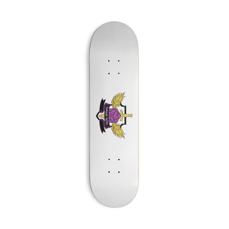 Dungeon Master: Non-Binary Accessories Deck Only Skateboard by RandomEncounterProductions's Artist Shop