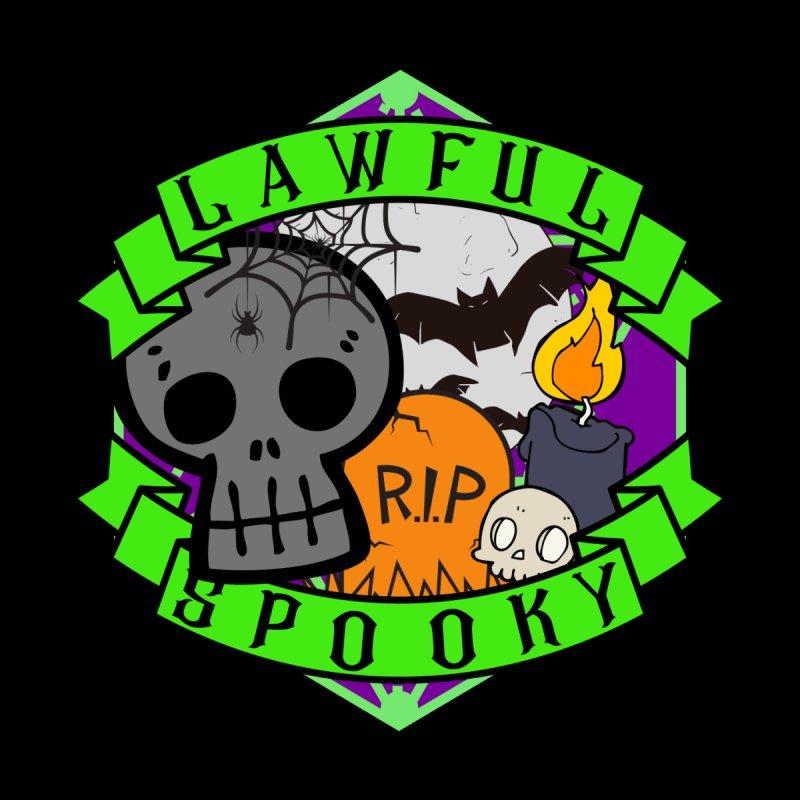 Lawful Spooky Men's Tank by RandomEncounterProductions's Artist Shop