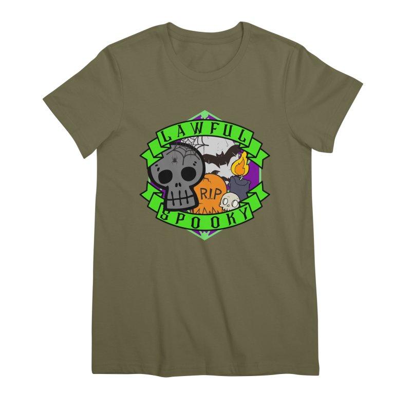 Lawful Spooky Women's Premium T-Shirt by RandomEncounterProductions's Artist Shop
