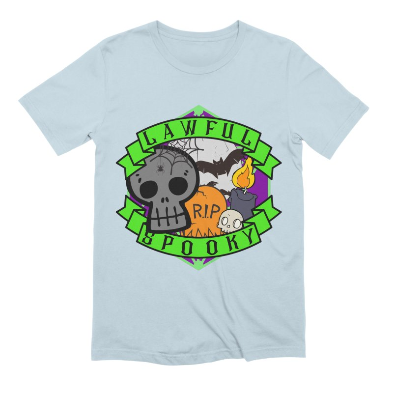 Lawful Spooky Men's Extra Soft T-Shirt by RandomEncounterProductions's Artist Shop