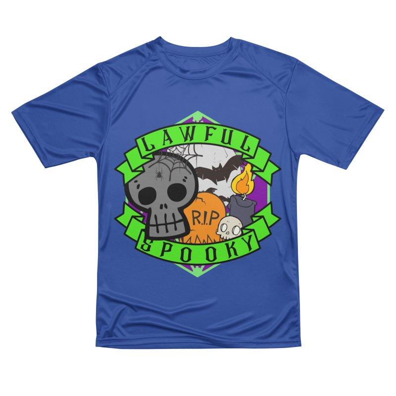 Lawful Spooky Women's Performance Unisex T-Shirt by RandomEncounterProductions's Artist Shop