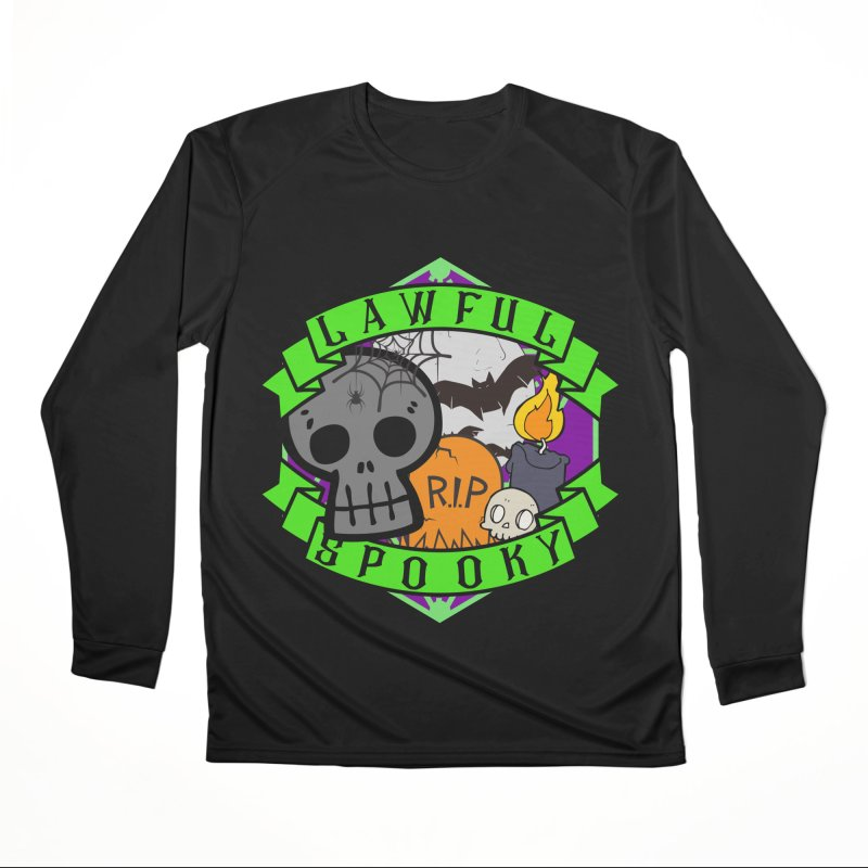 Lawful Spooky Men's Performance Longsleeve T-Shirt by RandomEncounterProductions's Artist Shop