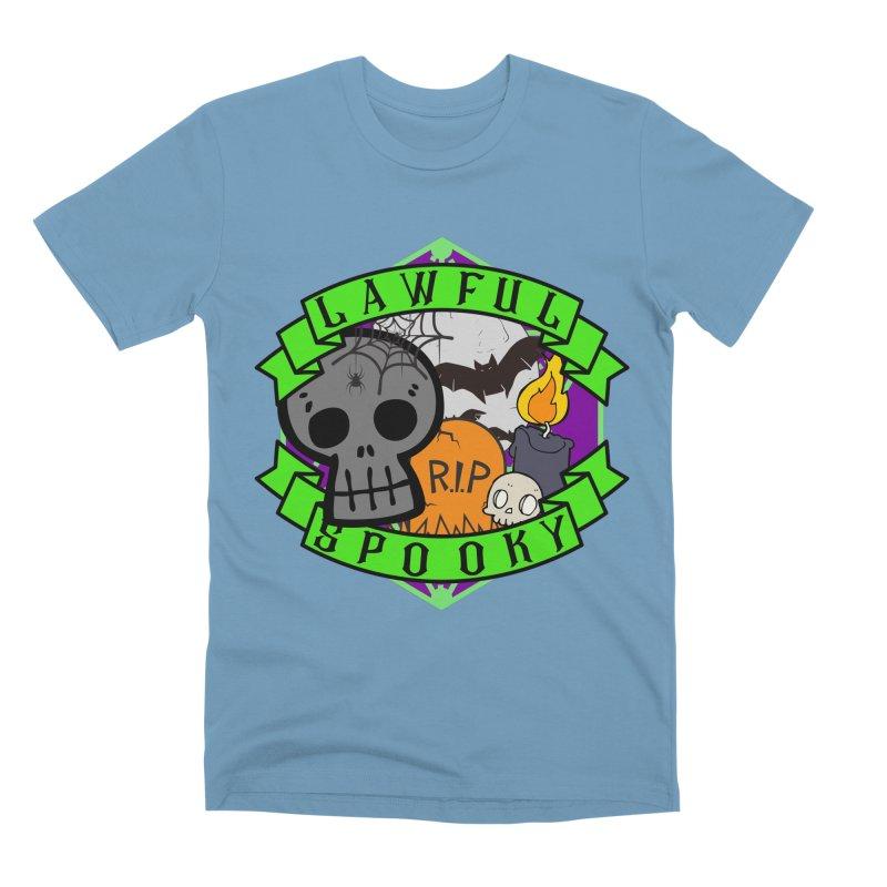 Lawful Spooky Men's Premium T-Shirt by RandomEncounterProductions's Artist Shop