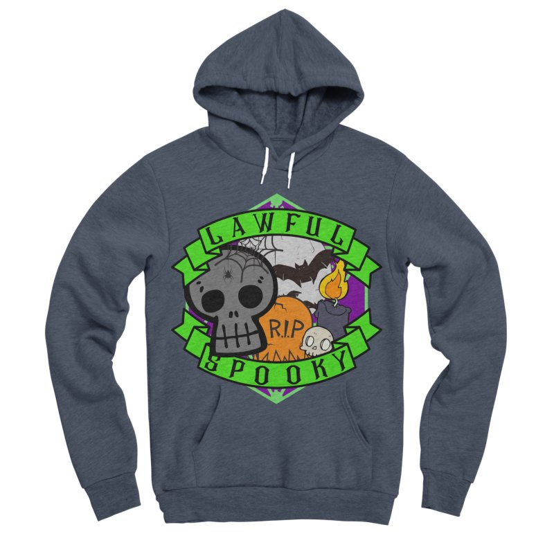 Lawful Spooky Men's Sponge Fleece Pullover Hoody by RandomEncounterProductions's Artist Shop