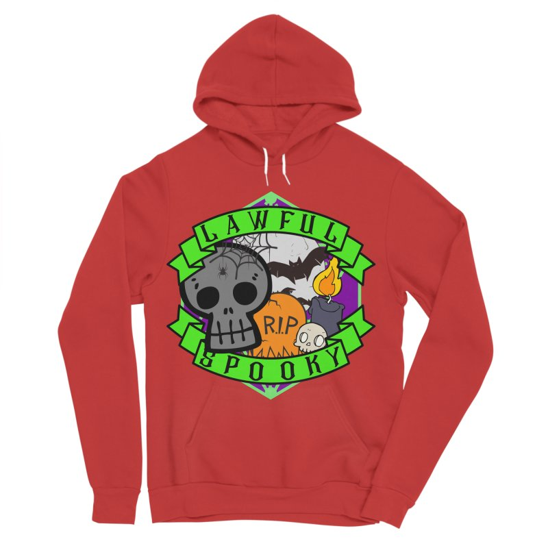 Lawful Spooky Women's Sponge Fleece Pullover Hoody by RandomEncounterProductions's Artist Shop