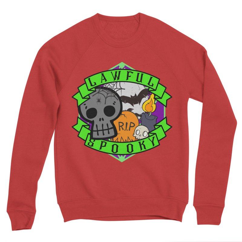 Lawful Spooky Women's Sponge Fleece Sweatshirt by RandomEncounterProductions's Artist Shop