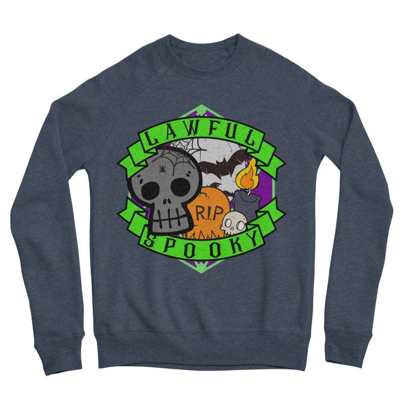Lawful Spooky Men's Sponge Fleece Sweatshirt by RandomEncounterProductions's Artist Shop
