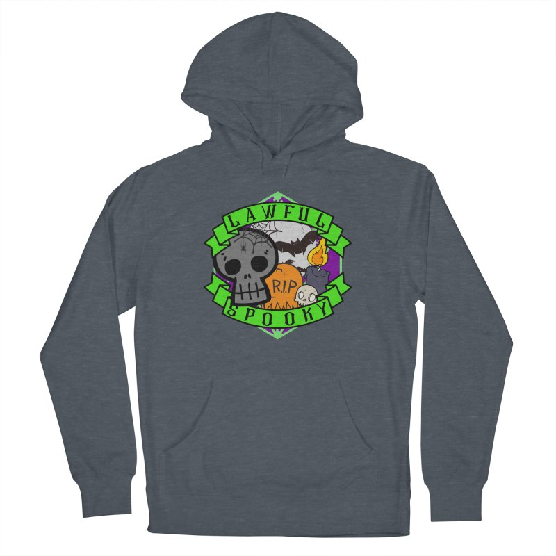 Lawful Spooky Women's French Terry Pullover Hoody by RandomEncounterProductions's Artist Shop