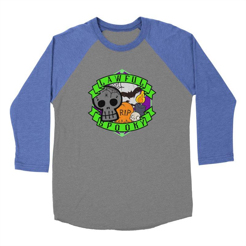 Lawful Spooky Women's Baseball Triblend Longsleeve T-Shirt by RandomEncounterProductions's Artist Shop