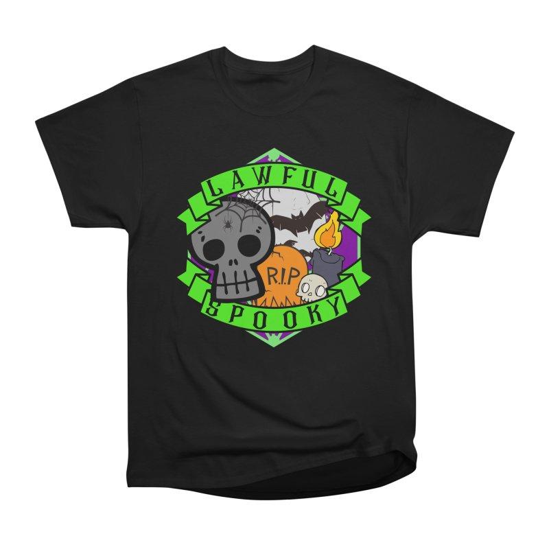 Lawful Spooky Men's Heavyweight T-Shirt by RandomEncounterProductions's Artist Shop