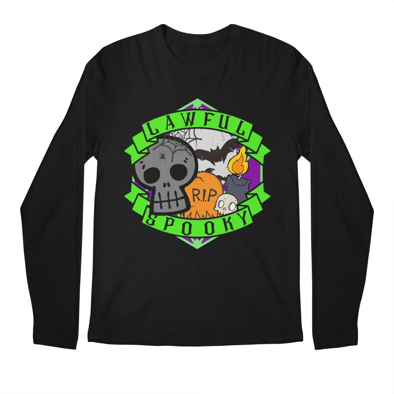 Lawful Spooky Men's Regular Longsleeve T-Shirt by RandomEncounterProductions's Artist Shop
