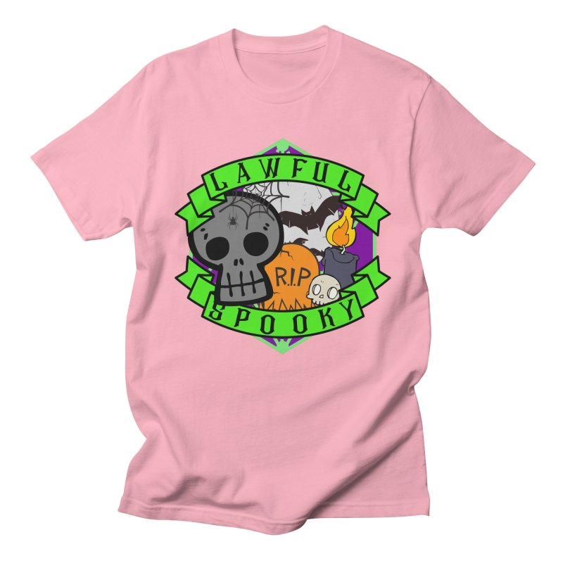 Lawful Spooky Men's Regular T-Shirt by RandomEncounterProductions's Artist Shop