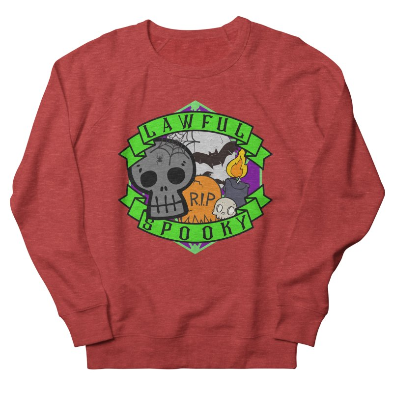 Lawful Spooky Women's French Terry Sweatshirt by RandomEncounterProductions's Artist Shop