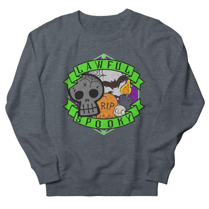 Lawful Spooky Men's French Terry Sweatshirt by RandomEncounterProductions's Artist Shop