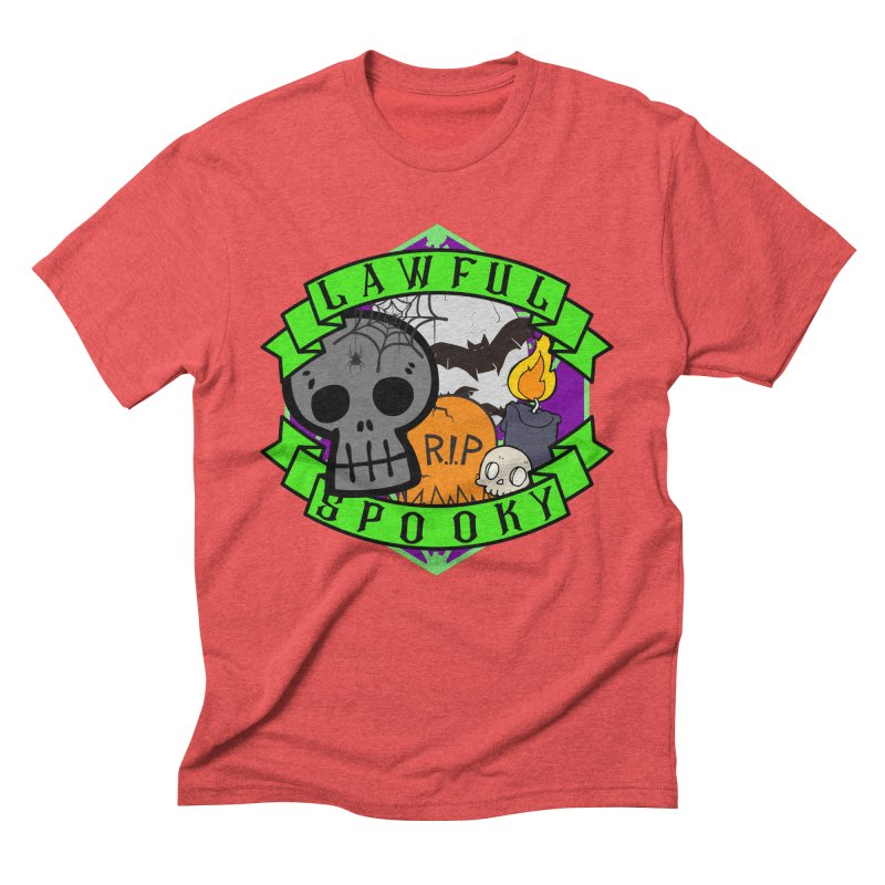 Lawful Spooky Men's Triblend T-Shirt by RandomEncounterProductions's Artist Shop