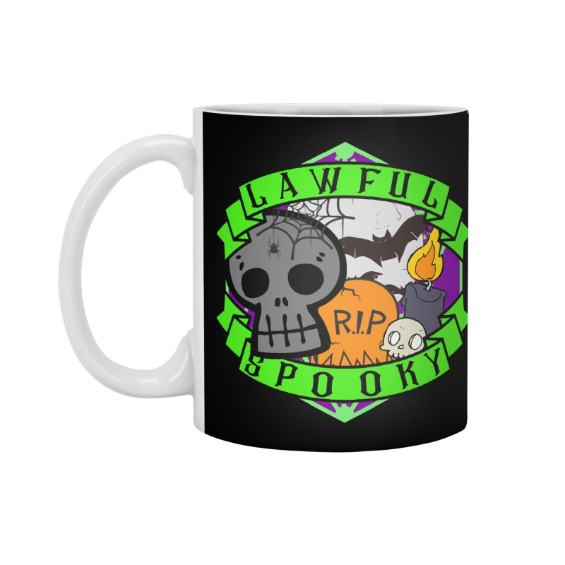 Lawful Spooky Accessories Standard Mug by RandomEncounterProductions's Artist Shop