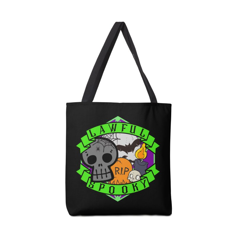 Lawful Spooky Accessories Tote Bag Bag by RandomEncounterProductions's Artist Shop
