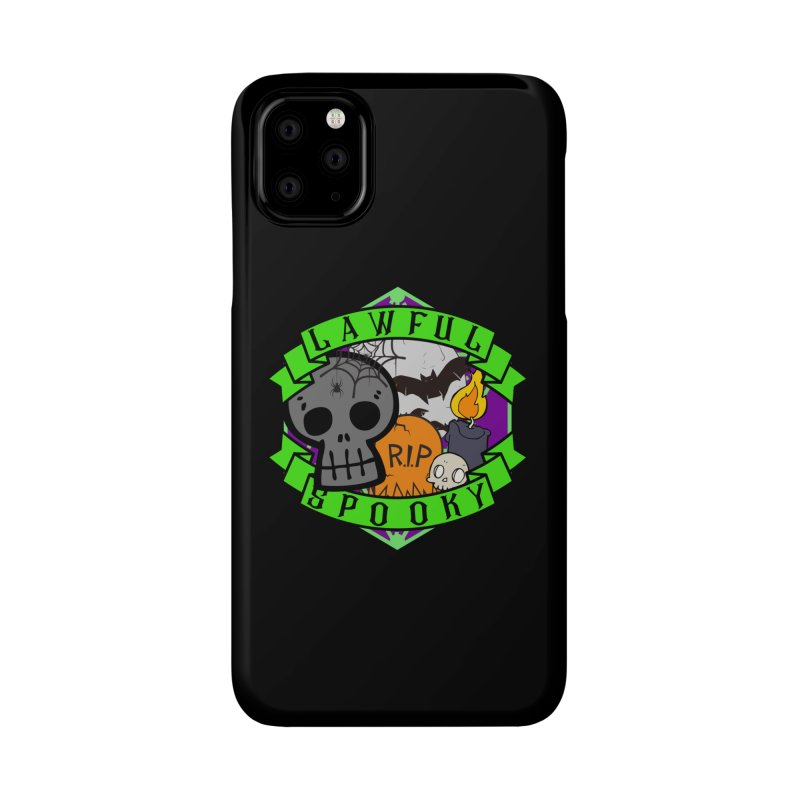 Lawful Spooky Accessories Phone Case by RandomEncounterProductions's Artist Shop