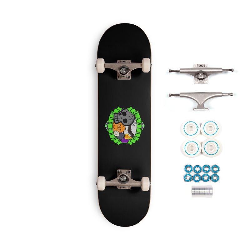 Lawful Spooky Accessories Complete - Basic Skateboard by RandomEncounterProductions's Artist Shop