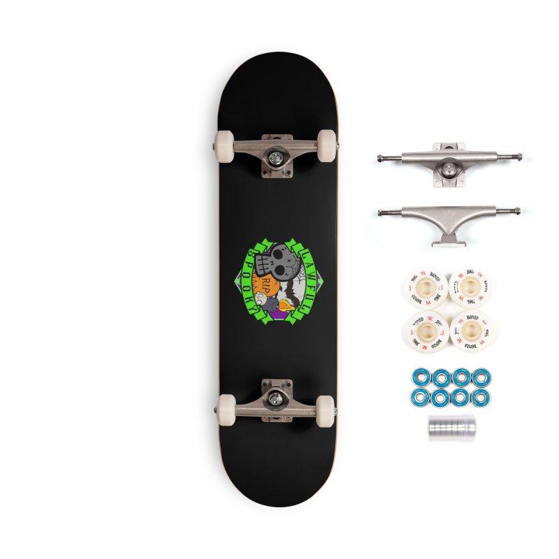 Lawful Spooky Accessories Complete - Premium Skateboard by RandomEncounterProductions's Artist Shop