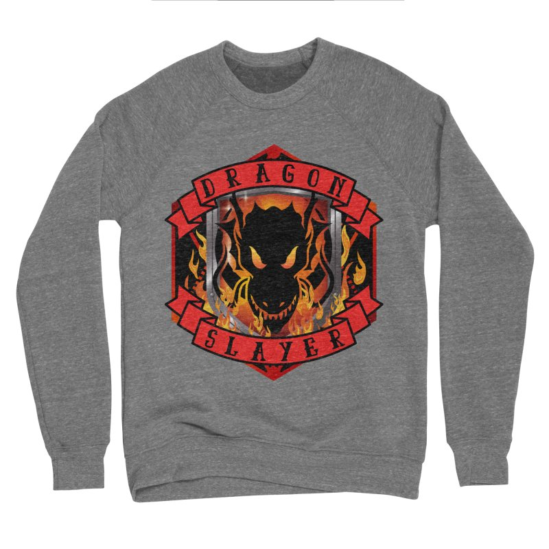 Dragon Slayer Women's Sponge Fleece Sweatshirt by RandomEncounterProductions's Artist Shop
