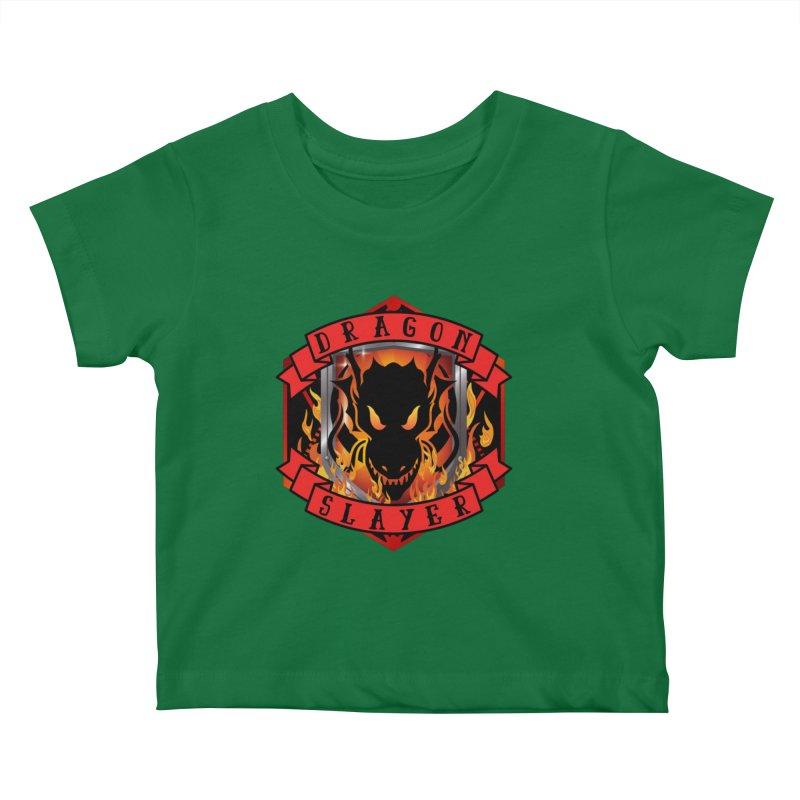 Dragon Slayer Kids Baby T-Shirt by RandomEncounterProductions's Artist Shop
