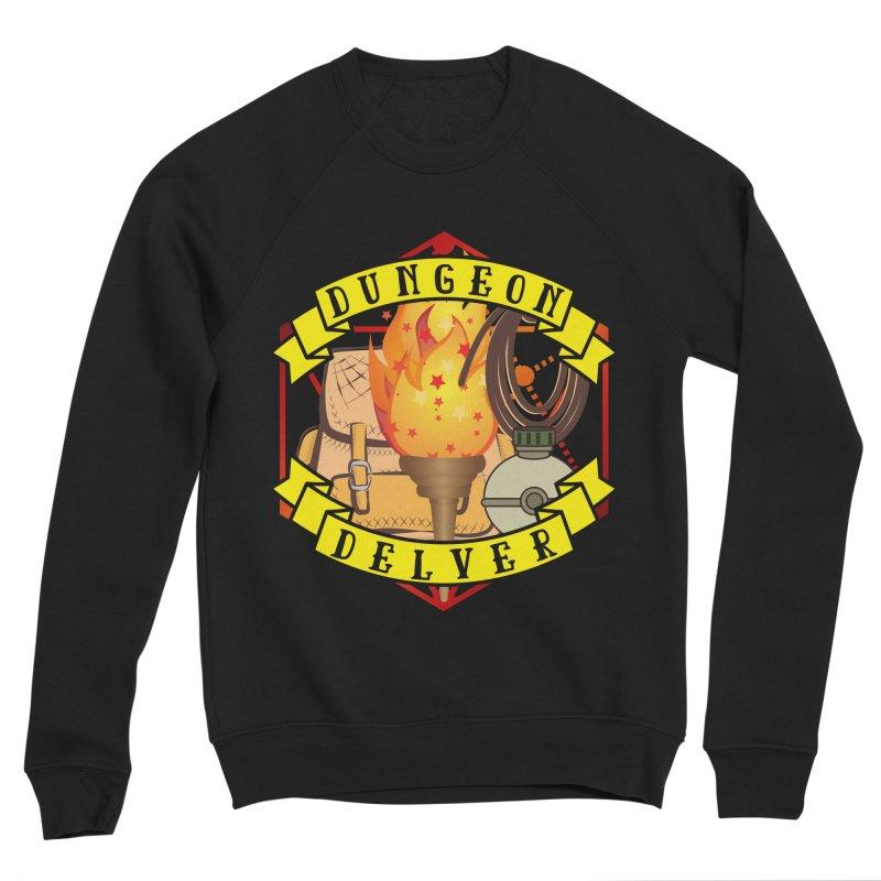 Dungeon Delver Women's Sponge Fleece Sweatshirt by RandomEncounterProductions's Artist Shop