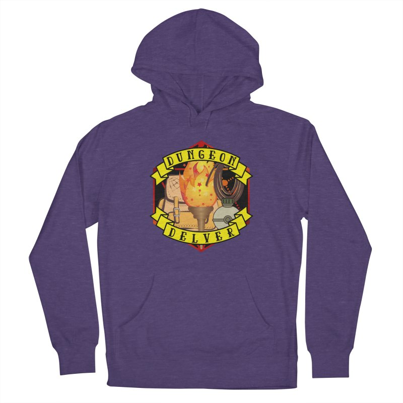Dungeon Delver Women's French Terry Pullover Hoody by RandomEncounterProductions's Artist Shop