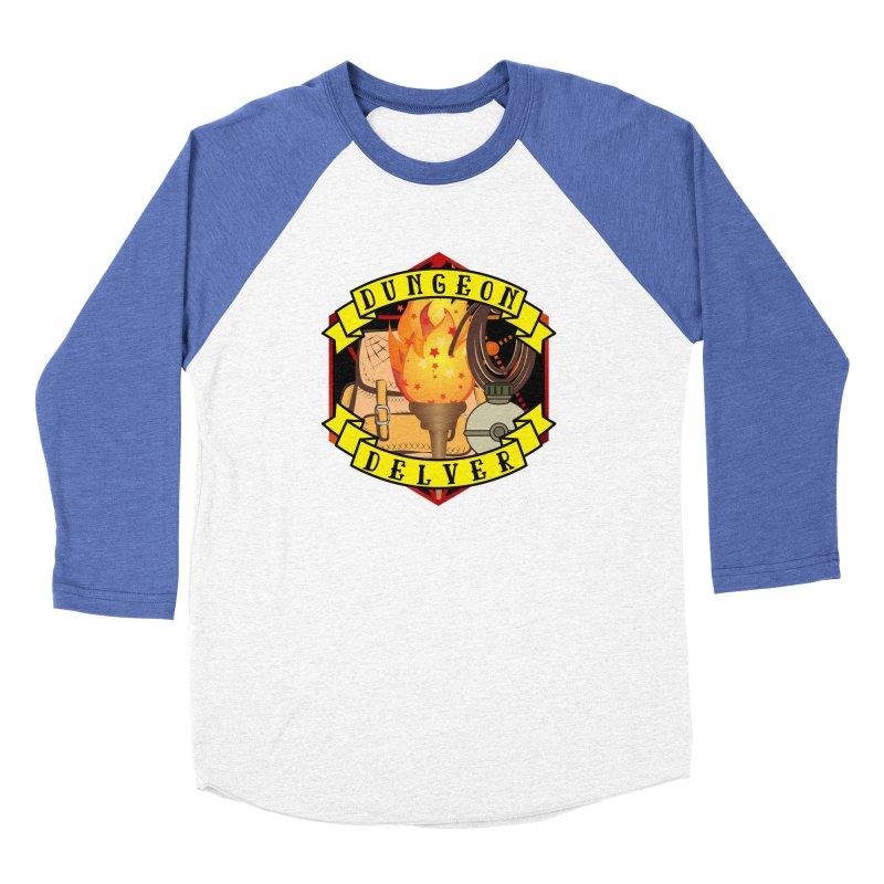 Dungeon Delver Women's Baseball Triblend Longsleeve T-Shirt by RandomEncounterProductions's Artist Shop