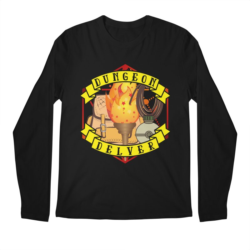 Dungeon Delver Men's Regular Longsleeve T-Shirt by RandomEncounterProductions's Artist Shop